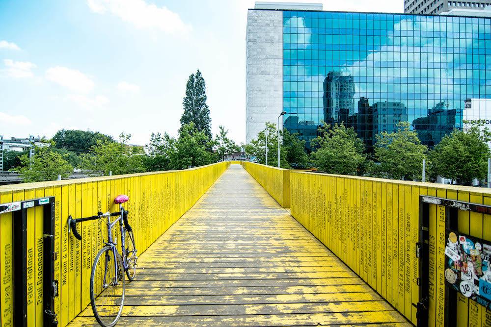 Art Route in Rotterdam, De Luchtsingel, De Hofbogen, Arts on the street, Rotterdam street art