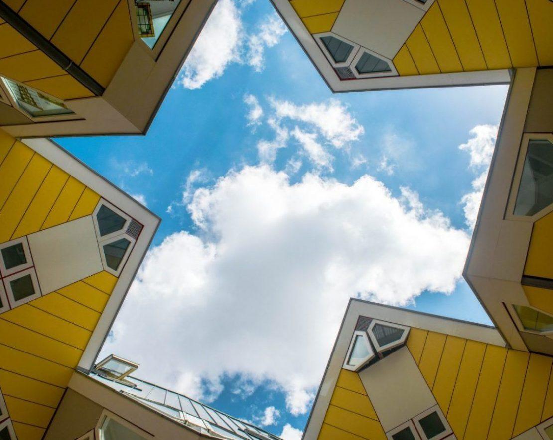 Kubuswoningen, architecture in Rotterdam