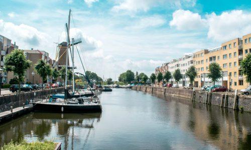 Historic Route in Rotterdam, Delfshaven, Oude Westen Rotterdam, Geschiedenis Rotterdam