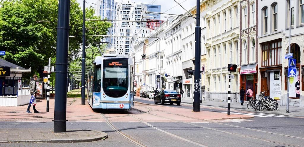 Tram in Rotterdam, public transport in Rotterdam