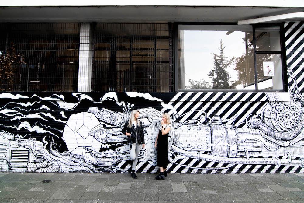 Mooie street art in Rotterdam. Op de straten van Rotterdam vind je overal kunst.