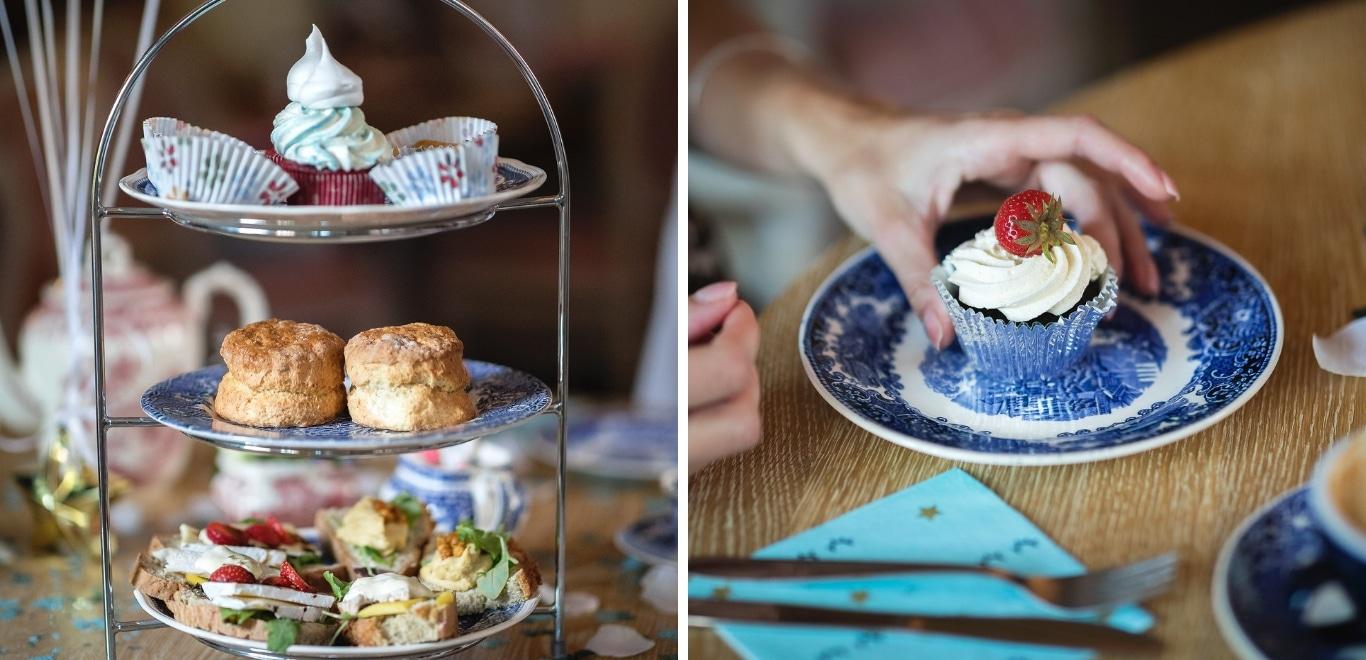 Verder kun je hier naast de standaard high tea terecht voor een gluten vrije high tea, vegan high tea en staan ze vooral bekend om hun celebration- en baby shower high tea's!