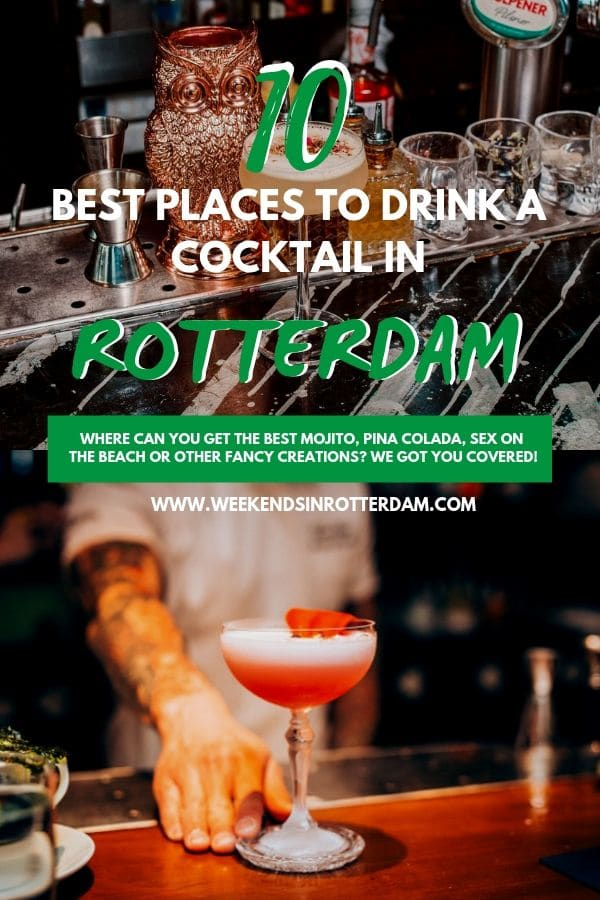 Weekend is finally here and you cannot wait to have some drink with your date, friends or colleagues. But where to go? Rotterdam offers so many options, which can make the decision really hard sometimes. But we are here to help you make the right choices and share the best places to drink a cocktail in Rotterdam.