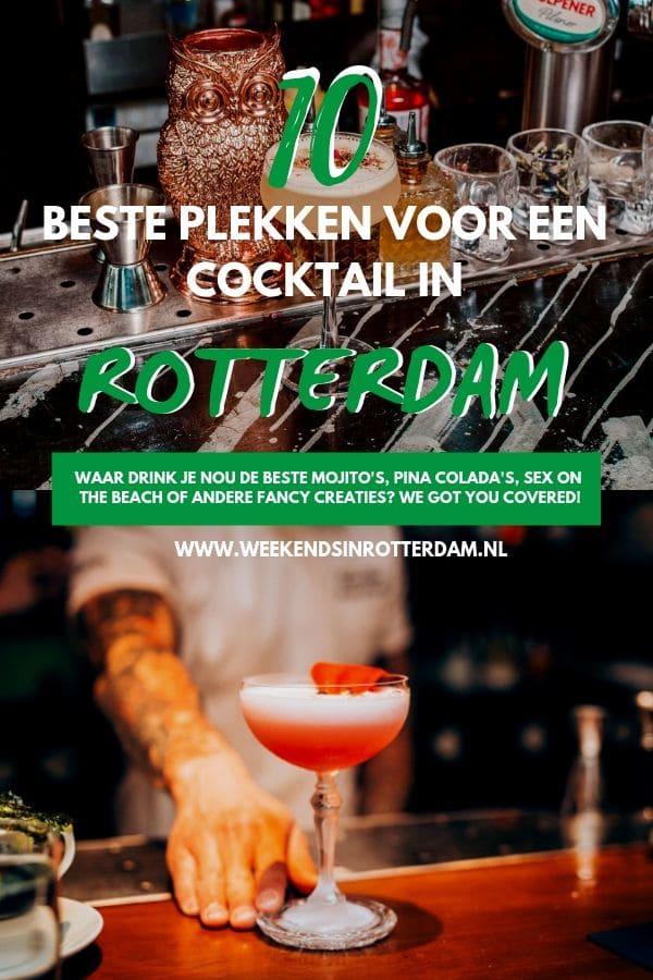 Cocktails, wie houdt er niet van? Of je nou de voorkeur geeft aan Mojito's, Pina Colada's, Sex on the Beach, Pornstars of andere fancy varianten, we got you covered. Lees hieronder de beste plekken in Rotterdam om een cocktail te drinken.