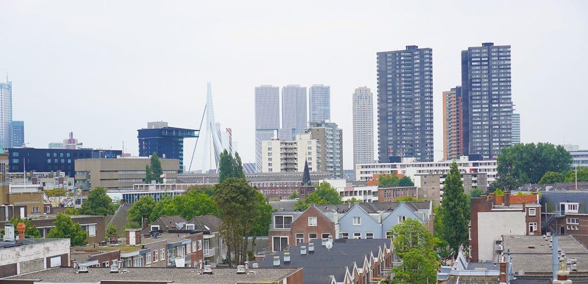 Rotterdam, Skyline Rotterdam, Erasmusbrug, Erasmusbridge, Gastblugger, Code Curvy, Margo Bazuin, Guest blogger, Weekends in Rotterdam, Als ik aan Rotterdam denk, When I think about Rotterdam