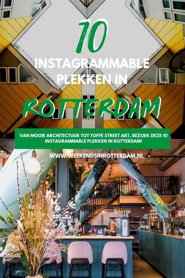 Om er zeker van te zijn dat jouw Instagram feed er goed uitziet tijdens je bezoek aan Rotterdam, delen we onze favoriete plekken voor de beste foto?s! #WeekendsinRotterdam #Rotterdam #InstagrammabeRotterdam