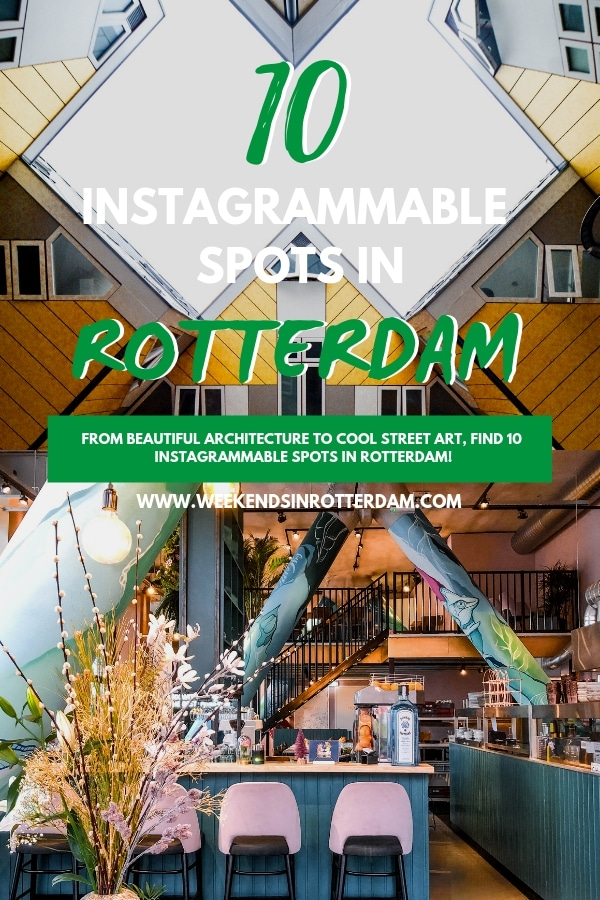 To help you make your feed look as good as possible while you?re in Rotterdam, the Netherlands we're sharing some of our favourite spots in Rotterdam for good photos. #WeekendsinRotterdam #Rotterdam #WeekendsinRotterdam