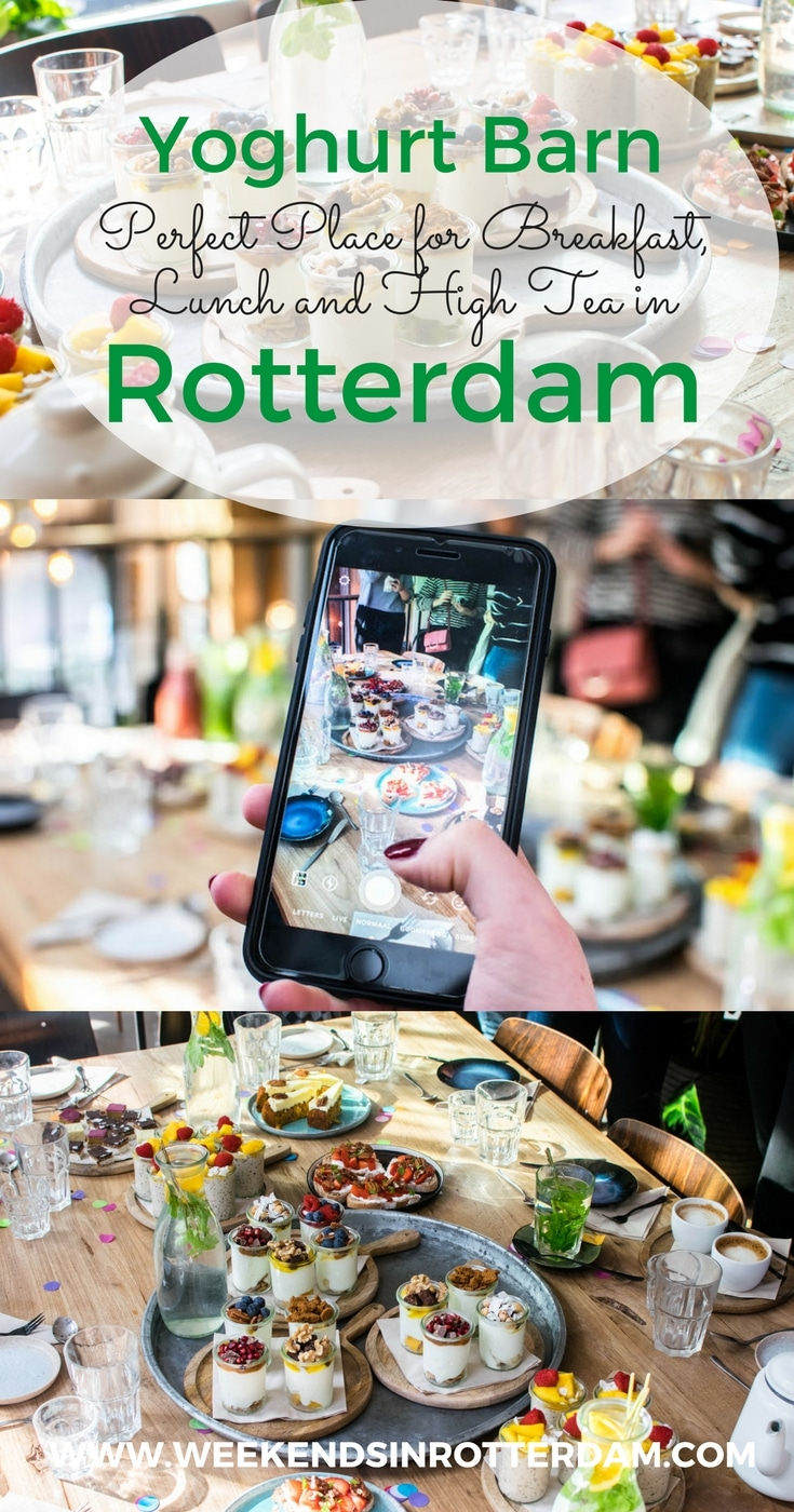 The Yoghurt Barn in Rotterdam is perfect for breakfast, lunch, brunch and high tea!