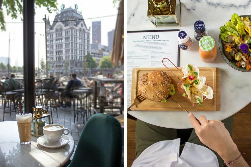 Healthful in Rotterdam biedt maaltijden waar je van kunt genieten zonder je schuldig te voelen. Het restaurant heeft een vegetarisch en veganistisch menu vol biologische producten.