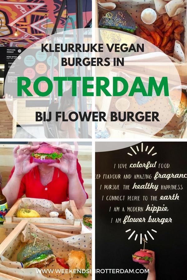 Heb je het al gehoord? Flower Burger is geopend in Rotterdam! Onze blogger Julia den Outer ging langs om ze te proeven. Het zijn hele kleurrijke, vegan burgers, een soort fast food concept maar dan eentje waar je je niet schuldig over hoeft te voelen. #Rotterdam #VeganBurgers #vegan #flowerburger #pinkburger #foodporn