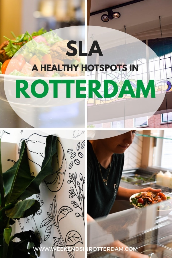 Are you looking for a healthy hotspots in Rotterdam? Then definitely try SLA at the Oude Binnenweg! #SLA #ilovesla #Rotterdam