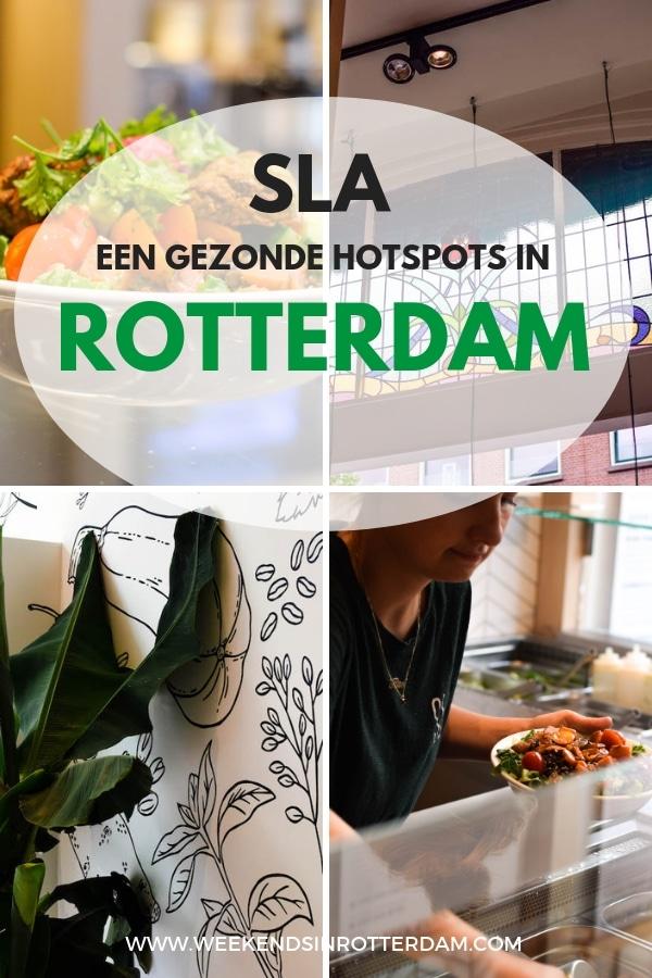 Ben je op zoek naar een gezonde hotspots in Rotterdam? Probeer dan eens SLA op de Oude Binnenweg! Hier kun je de lekkerste salades krijgen.