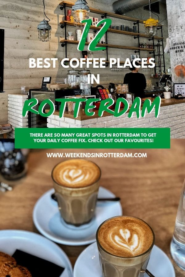 There are plenty of coffee tents in Rotterdam. But that makes choosing so difficult! We are happy to help you and therefore list our 10 favourites below.