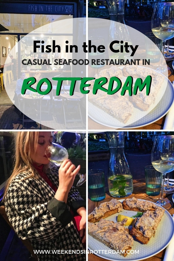 Are you looking for a good, casual seafood restaurant in Rotterdam? Visit Fish in the City at Scheepstimmermanslaan! #Rotterdam #theNetherlands