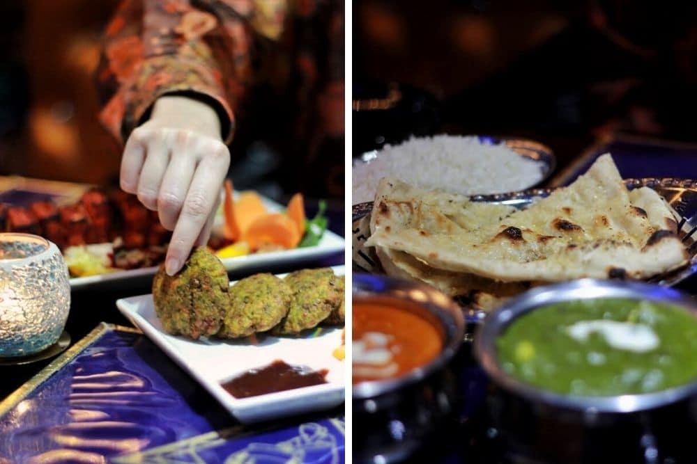 What's up India is een goed voorbeeld van een leuk én betaalbaar restaurant! Hier heb je al een heerlijke (vegetarisch) hoofdgerecht voor rond de €10.