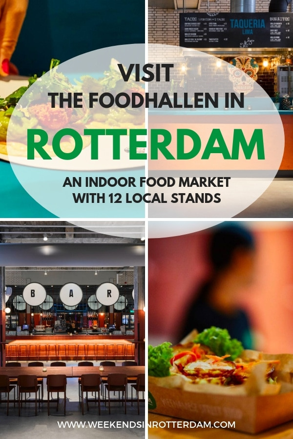 At Foodhallen Rotterdam you can find the best from Rotterdam in terms of food, lots and lots of food and drinks! Twelve local restaurants from Rotterdam have moved into the Foodhallen to serve the best from our city. Next to local food, there is also a central bar that serves Rotterdam drinks, such as beer from Kaapse Brouwers and Bobby's Gin from Schiedam. A bit too early for a strong drink? Move along to the coffee corner and relax there until the other stands have opened.?You can even stay at the design hotel Room Mate Bruno which is also located in the monumental Pakhuismeesteren?building.?