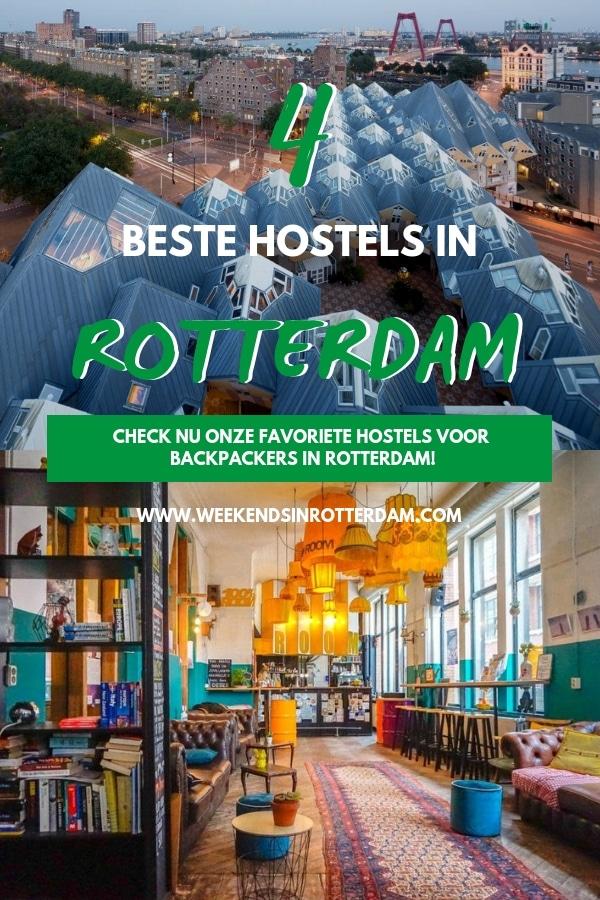 Als je door Nederland of Europa reist, is Rotterdam zeker een stad die je niet mag missen! Indrukwekkende architectuur, een top nachtleven, super veel lekkere restaurants en eigenlijk alle winkels die je nodig hebt voor een geslaagde shop dag. Maar als je het ?chte Rotterdam wilt ervaren, is ??n dag natuurlijk niet genoeg. Daarom deel ik in dit artikel de 4 beste hostels in Rotterdam! #Rotterdam #hostelsrotterdam