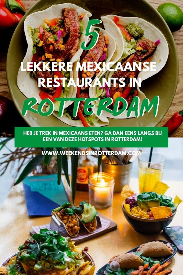 Wat zijn goede Mexicaanse restaurants in Rotterdam? Het antwoord kun je vinden in dit artikel! Lekkere nachos, taco's, enchiladas en meer! #Rotterdam
