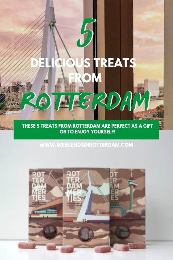 Looking for a typical Rotterdam product? What about one of these 5 treats from Rotterdam? Nice to give, buy for yourself or to receive! From Rotterdam sweets, chocolate and cookies to real cheese from 010. Are you getting hungry already? ;) #Rotterdam #RotterdamGifts