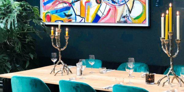GaleriAAA by Mangiare is een bijzonder restaurant in Rotterdam Noord, waar Italiaans eten en kunst samen komen.