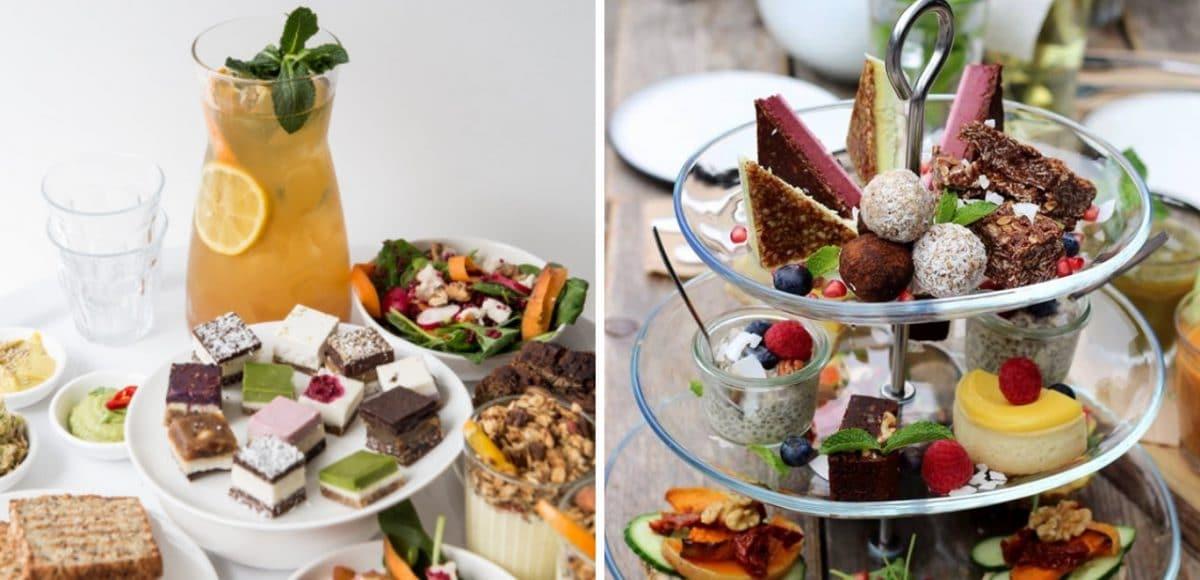 Liters thee, hartige sandwiches, scones, de lekkerste taarten... Wie houdt er niet van? High tea's zijn enorm populair en wij snappen wel waarom.?Gelukkig zijn er tegenwoordig ook zowel vegan als healthy high tea's te vinden in Rotterdam, met niet alleen vegan, maar ook gluten-, lactose- en suikervrije opties.