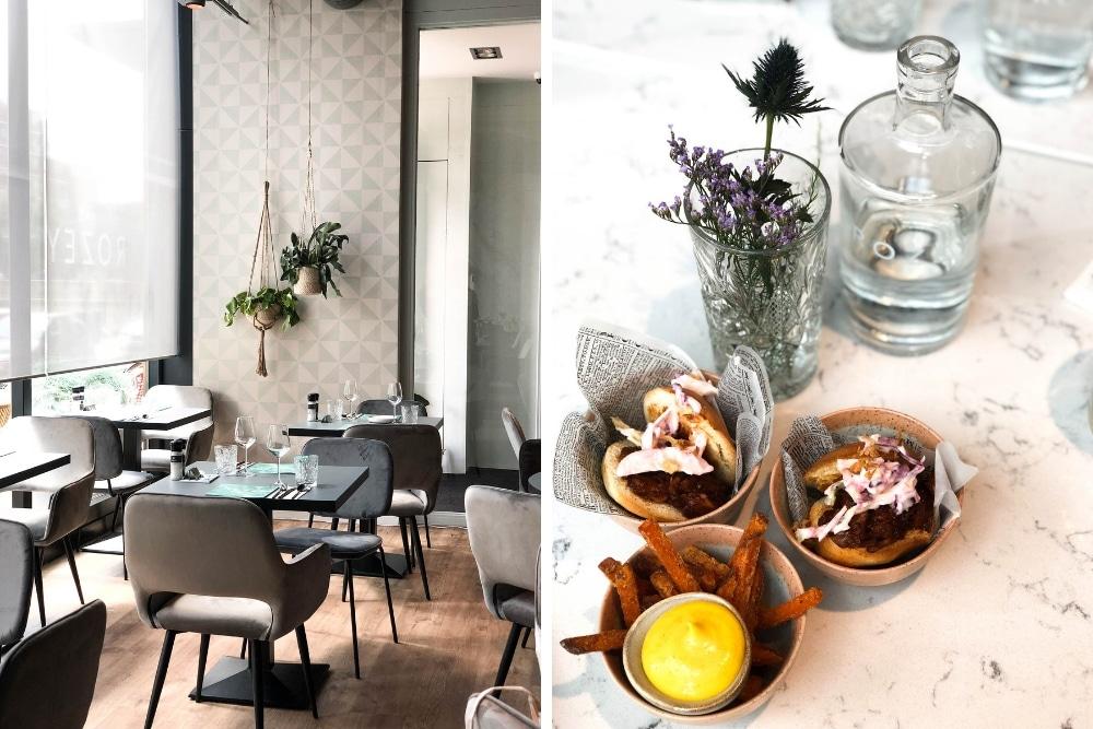 Onze favoriete vegan en vegetarische hotspot is Rozey. Dit is het allereerste restaurant in Rotterdam én in Nederland waar je een hele avond onbeperkt vega en vegan kunt dineren voor een vaste prijs.