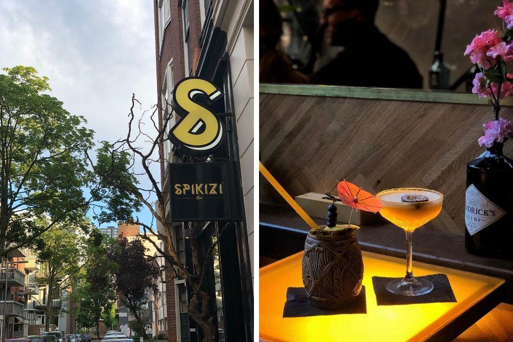 Spikizi is een kleine bar verborgen in een van de zijstraten van de populaire Rotterdamse Witte de Withstraat. Deze trendy en gezellige cocktailbar is een fijne plek om bij te praten met vrienden en je kunt hier heerlijk genieten van een van hun heerlijke cocktails. Probeer bijvoorbeeld de White Choco Pornstar, een echte aanrader!