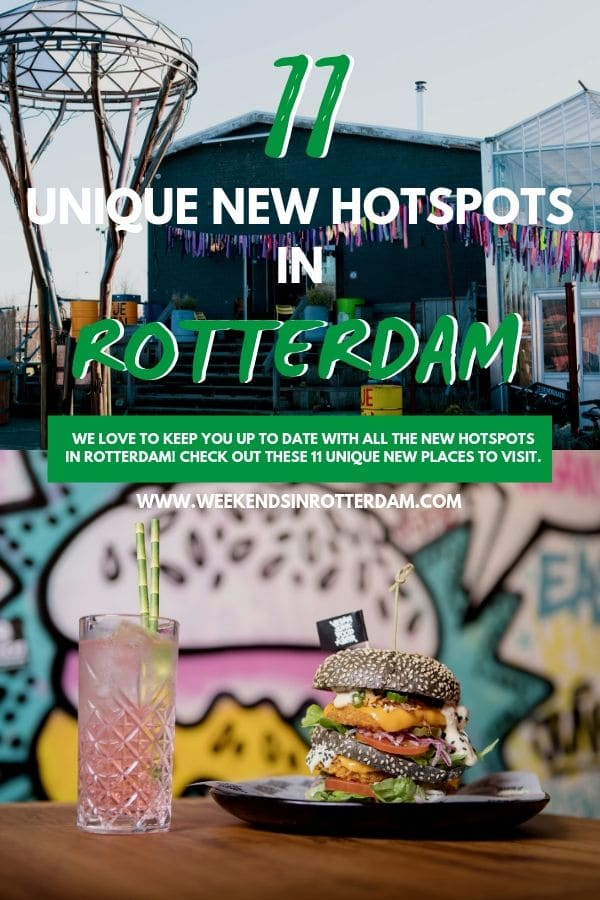 There are a lot of new hotspots in Rotterdam again. In this article we will keep you informed of all the new places in Rotterdam that you definitely want to visit. #TheNetherlands #Rotterdam #WeekendsinRotterdam #hotspotsrotterdam