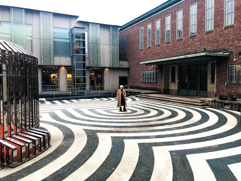 Boijmans van Beuningen in het Museumpark. Momenteel 7 jaar gesloten!