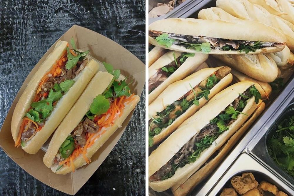 Heerlijke Franse baguettes, rijk belegd met verschillende soorten vleeswaren of tofu, en bereid op Vietnamese wijze. Bij Boguette eet je deze lekkere bánh mì broodjes met een lekkere speciale mayonaise, groente, koriander en chili.
