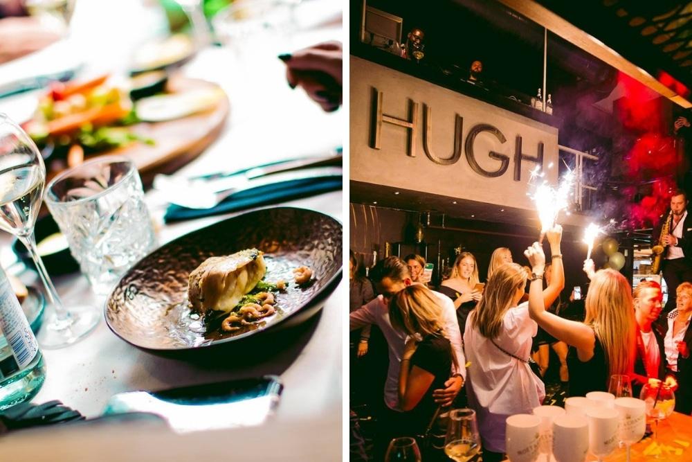 Bij Hugh is de brunch echt een feestje. Tijdens THEHUGHBRUNCH word je voorzien met een amuse, 4-gangenmenu door sterrenchef Mario Ridder, een glas champagne en genoeg entertainment. Er is zelfs een afterparty!