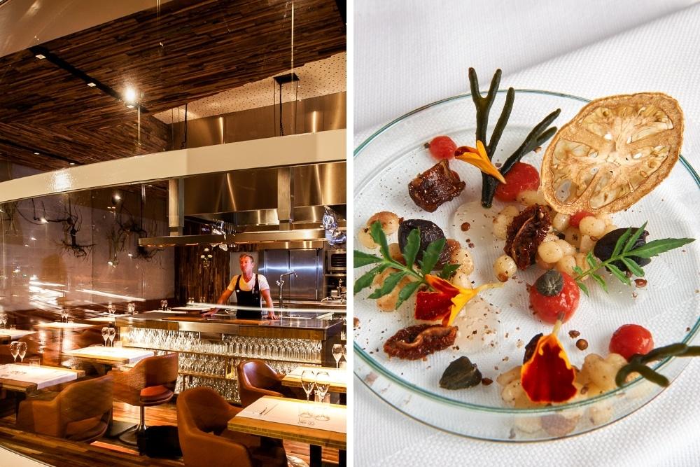 Met een vast 8 of 9-gangenmenu, bereid in de open keuken, geniet je bij In de keuken van Floris van heerlijke voorgeselecteerde gerechten. Voor alle vegetariërs is er naast het 'normale' menu, ook een vegetarische versie.
