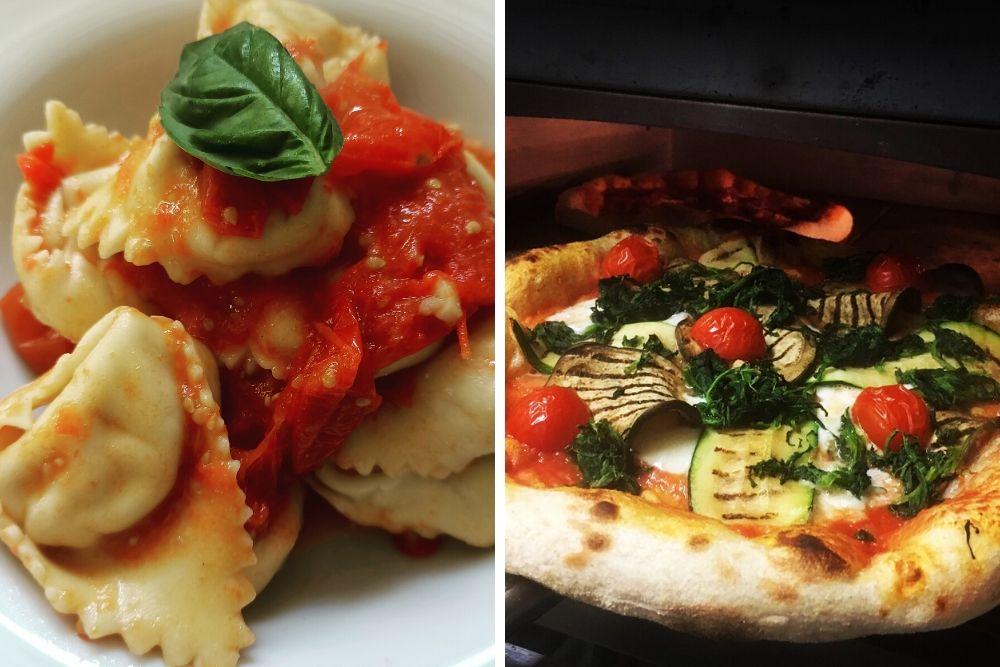 Bij Burro e Salvia kun je overheerlijke pasta's verwachten, eenvoudig gemaakt met lokale, biologische ingrediënten. Wat zeker ook het noemen waard is, is hun ongefilterde, koudgeperste extra vierge olijfolie uit Umbrië.