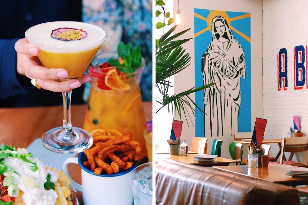 Wat is er beter dan cocktails? Cocktails met nacho's! Supermercado is een moderne bar met een leuk latijns sfeertje. Je waant je hier helemaal in Zuid-Amerika! Naast de lekkere cocktails kan je hier taco's, salades, vlees van de grill en ander lekker eten bestellen.