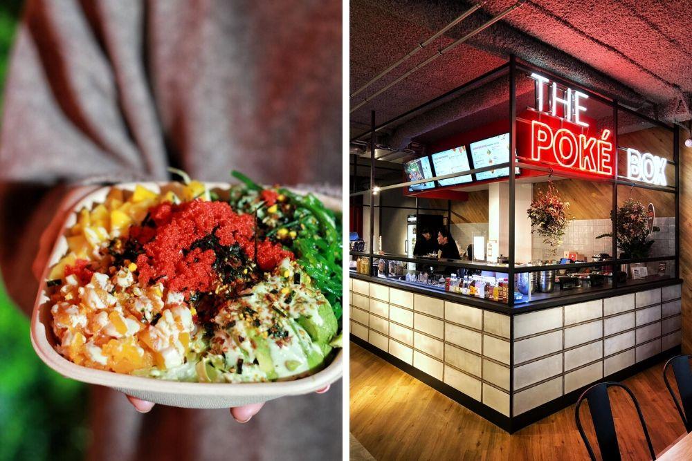 We kennen waarschijnlijk allemaal de poké bowl wel: een traditioneel Hawaiiaanse gerecht dat bestaat uit rijst, je favoriete vis en verschillende soorten verse groentes. Bij Poké Box in Rotterdam kun je zowel tijdens de lunch als voor het avondeten je eigen box samenstellen of kiezen uit een van de signature boxes!