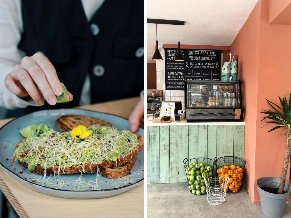 Voor wie trek heeft in een lekkere, gezonde lunch is Sappi de uitkomst. Zij hebben naast de locatie in het centrum ook een fijne locatie op de Zwaanhals in Rotterdam Noord. Hier kun je aanschuiven voor een heerlijke lunch in Rotterdam.