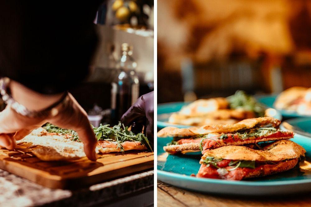 Heb je trek in een heerlijk Italiaans broodje? Dan is Il Capo in Rotterdam een goede lunch plek voor jou. De specialiteit van deze Italiaanse trattoria is namelijk de Italiaans ciabatta. Elke dag worden de huisgemaakte broden door henzelf gebakken en belegd met verse Italiaanse ingrediënten. Heerlijk!
