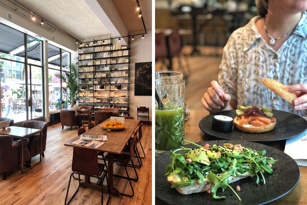 Na meerdere succesvolle zaken in België, heeft Vascobelo ook een plekje gevonden in Rotterdam. Middenin het centrum, op de Lijnbaan, drink je Belgische koffie van goede kwaliteit en eet je sandwiches, salades, soepen, burgers of lekkere snacks om te delen. Een lekker plekje voor een lunch break van het shoppen of als je een dagje buiten de deur wilt werken!