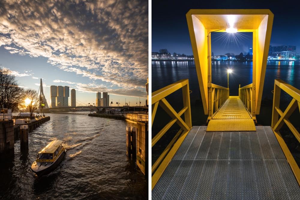 Het is een vorm van openbaar vervoer, maar dan honderd keer leuker! Boek een rit via de website of bestel een taxi per telefoon en laat je afzetten op een van de 50 steigerlocaties in de stad. Een leuke manier om Rotterdam vanaf het water te zien en ook nog eens een avontuur, want de taxi's kunnen aardig snel over de golven sjezen.