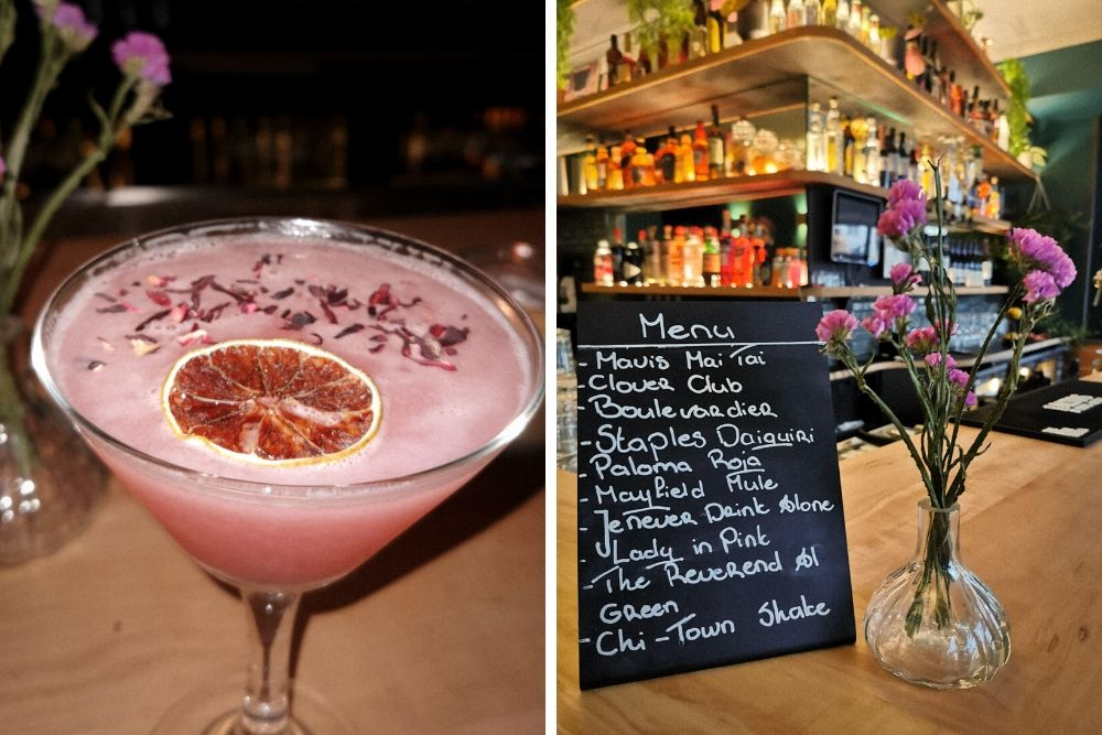 Bij cocktailbar MAVIS draait het om muziek, culinaire bites en smaakvolle cocktails. Boven deel je lekkere hapjes volgens het shared-dining principe, terwijl beneden de DJ booth staat en waar regelmatig leuke feestjes gaande zijn.