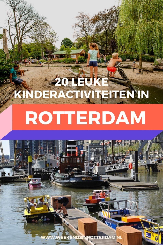 Voor een leuke dag in Rotterdam met je kinderen!