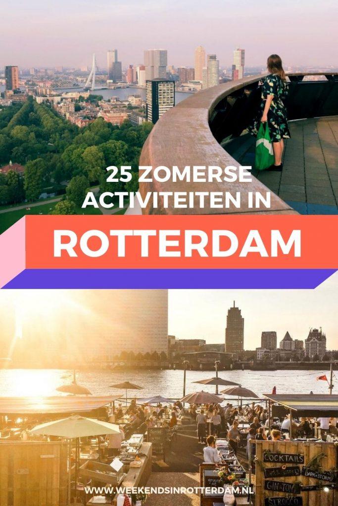 Geniet van de zomer in Rotterdam met deze leuke activiteiten!