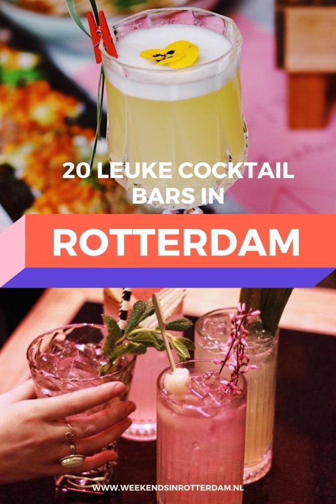 Op zoek naar leuke cocktail bars in Rotterdam? Lees dan gauw dit artikel met 20 leuke plekken voor een cocktail in Rotterdam!