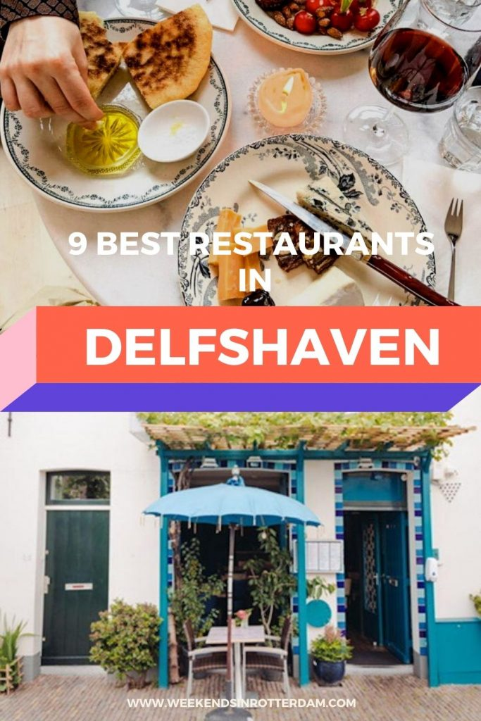 Check out the best restaurants in Delfshaven