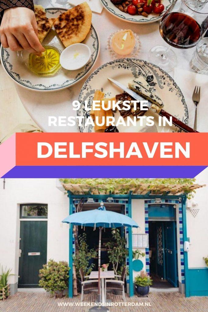 In dit artikel kun je de leukste restaurants van Delfshaven vinden!