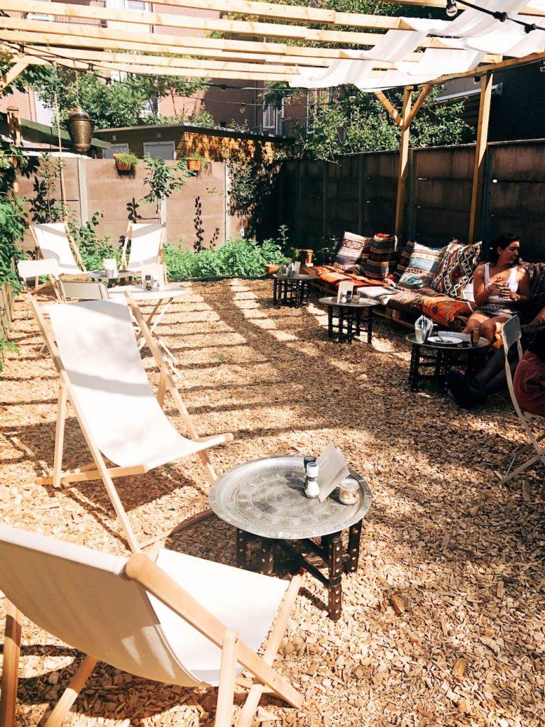 De gezellige tuin van Arzu in Rotterdam West