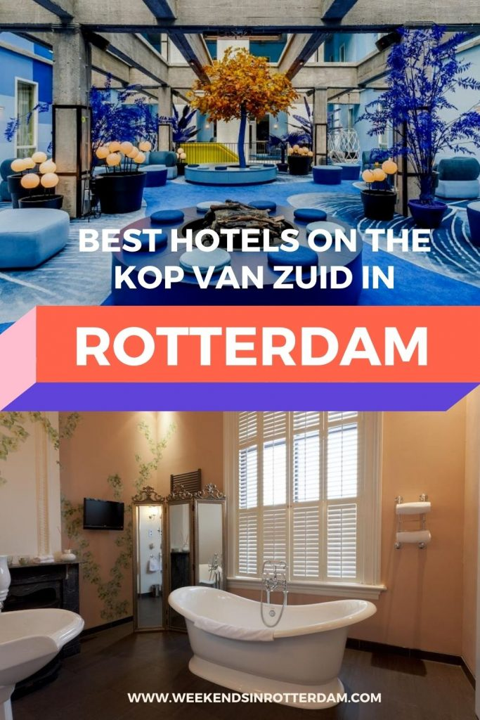 Not sure where to stay in Rotterdam? Kop van Zuid is definitely a great option!