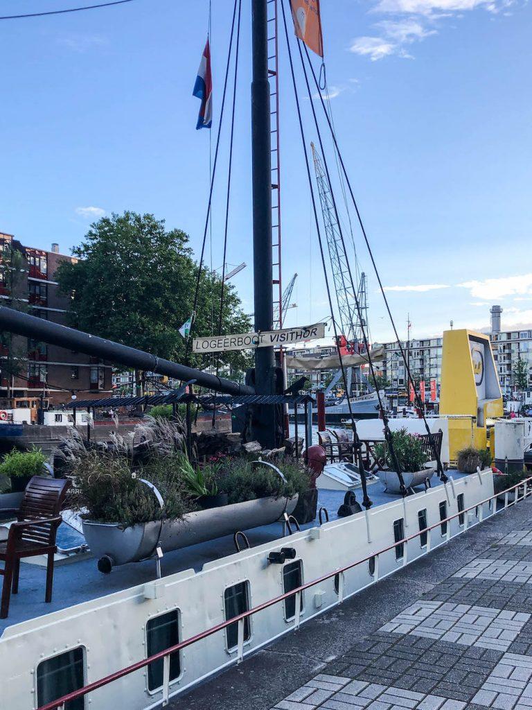 Verblijf op de Logeerboot Visithor in het centrum van Rotterdam!