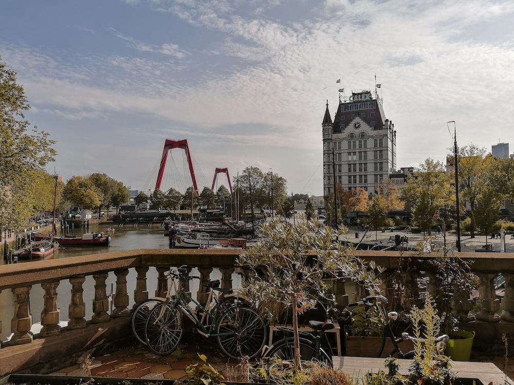 De Oude Haven in de herfstmaanden in Rotterdam. Ligt het er niet prachtig bij?