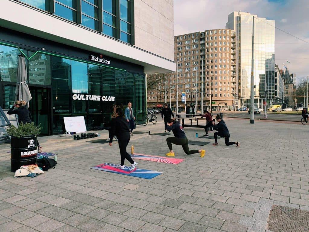 Een uniek concept in Rotterdam dat buiten sporten nóg leuker maakt. Bij The Walk beweeg je door heel de stad en zie je de tofste plekken.